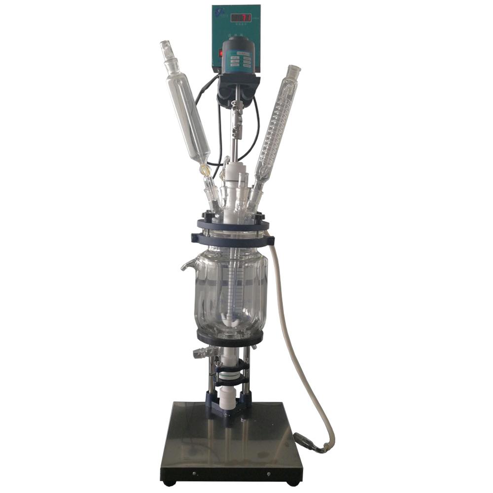 GSFT-2L双层玻璃反应釜