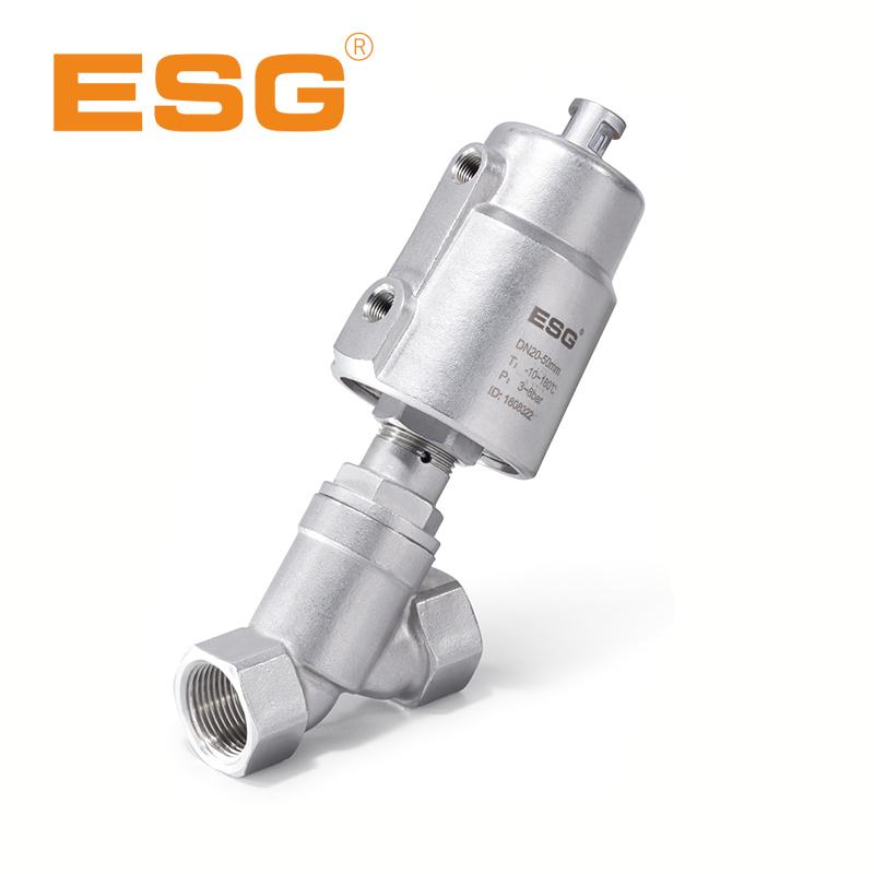 ESG气动角座阀