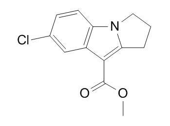methyl 7-chloro-2,3-dihydro-1H-pyrrolo[1,2-a]indole-9-carboxylate