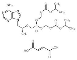 富马酸替诺福韦二吡呋酯原料药