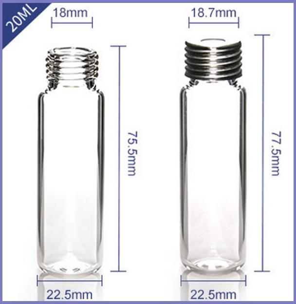 20ml精密螺纹顶空瓶