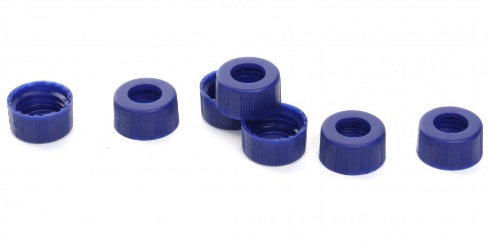 9-425 9mm蓝色螺纹开口盖