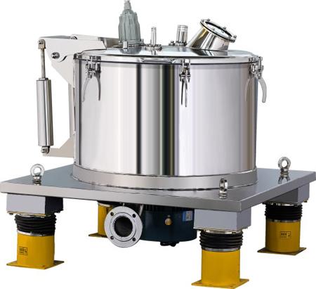 PSB/PBZ平板式人工上部卸料大翻盖离心机