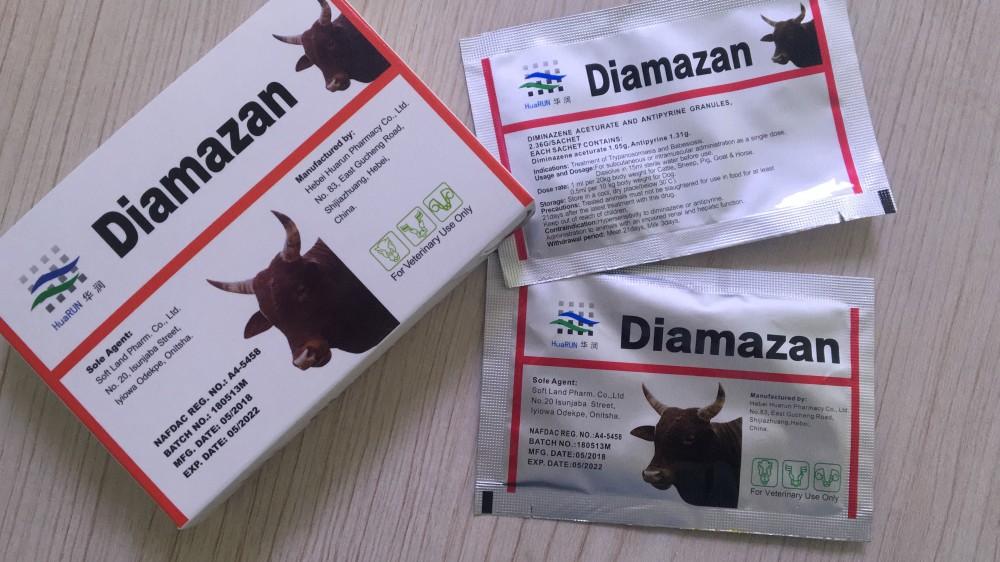 Diminazene and Antiprine granule
