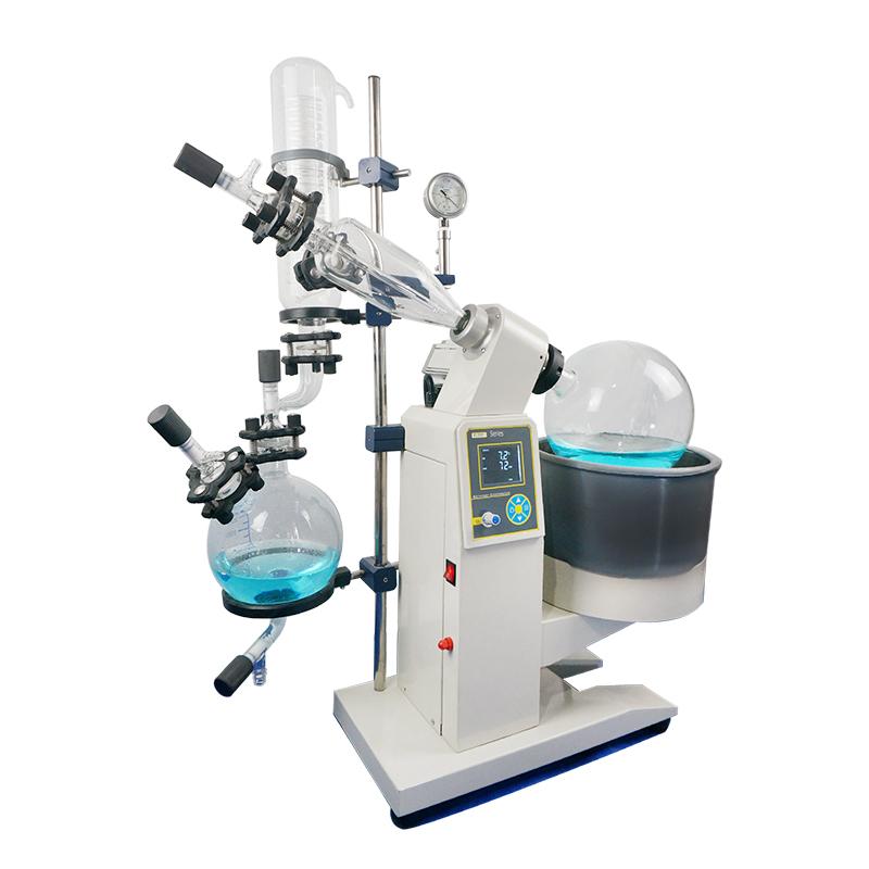 蒸馏提纯 5l旋转蒸发仪 旋转蒸发仪RE-1050