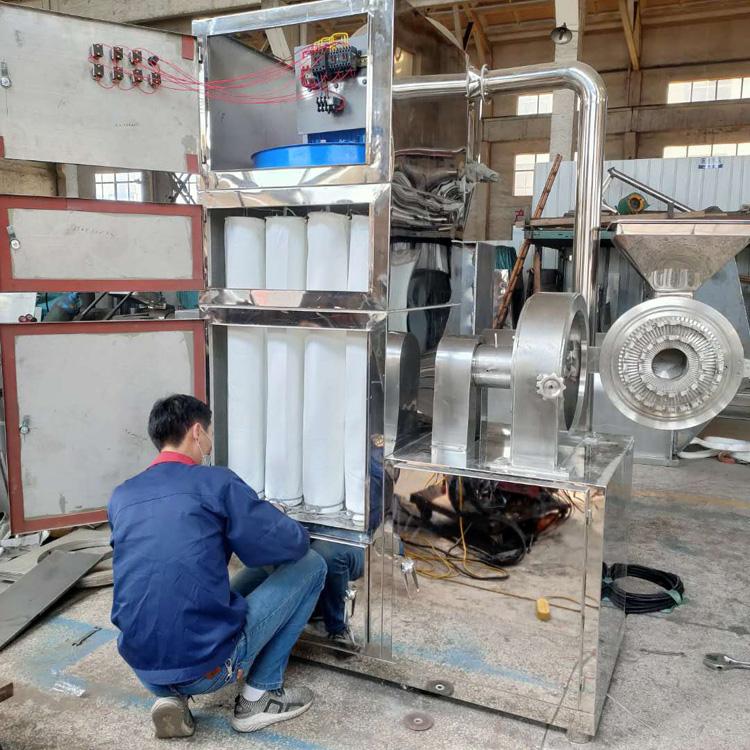 江苏粉碎机厂家 现货供应电子陶瓷粉磨粉机 旋风除尘粉碎机 商用