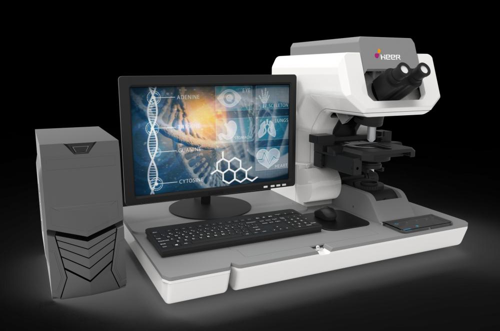 呵尔医疗自动化读取液基薄层宫颈细胞学玻片成像系统-300型