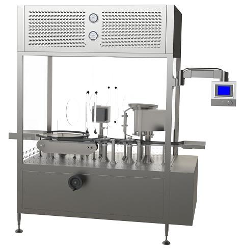 液体灌装旋/轧盖机