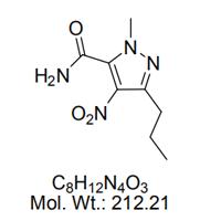 1-甲基-4-硝基-3-正丙基-(1H)-吡唑-5-甲酰胺
