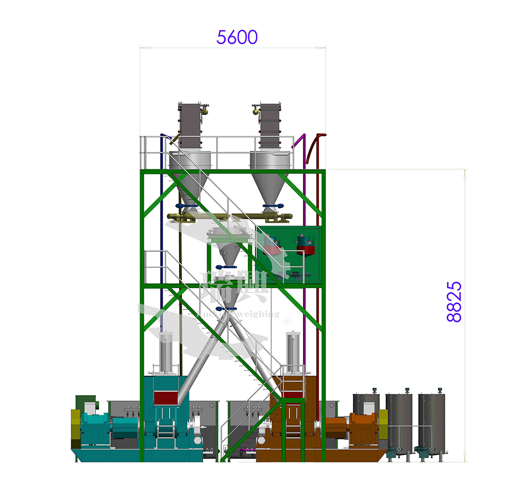 原料配方计量输送系统