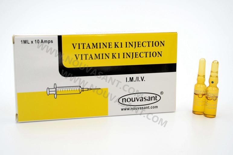Vitamin K1 injection 1ml 维生素K1注射液