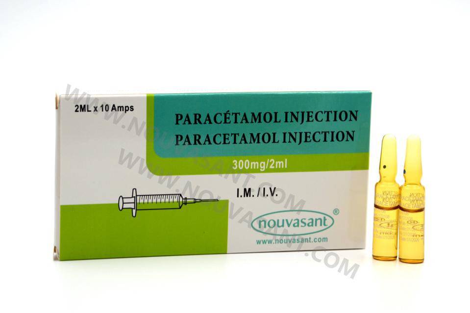 Paracetamol Injection 300mg/2ml 扑热息痛注射液