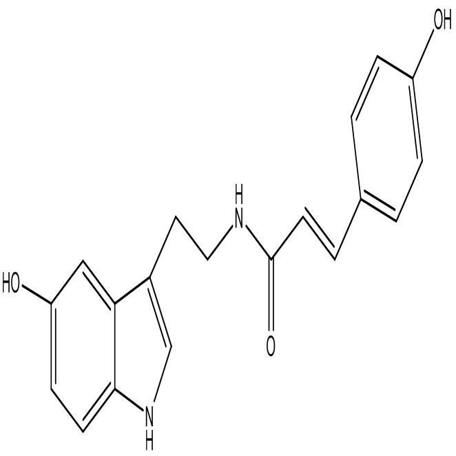 N-p-Coumaroyl serotonin
