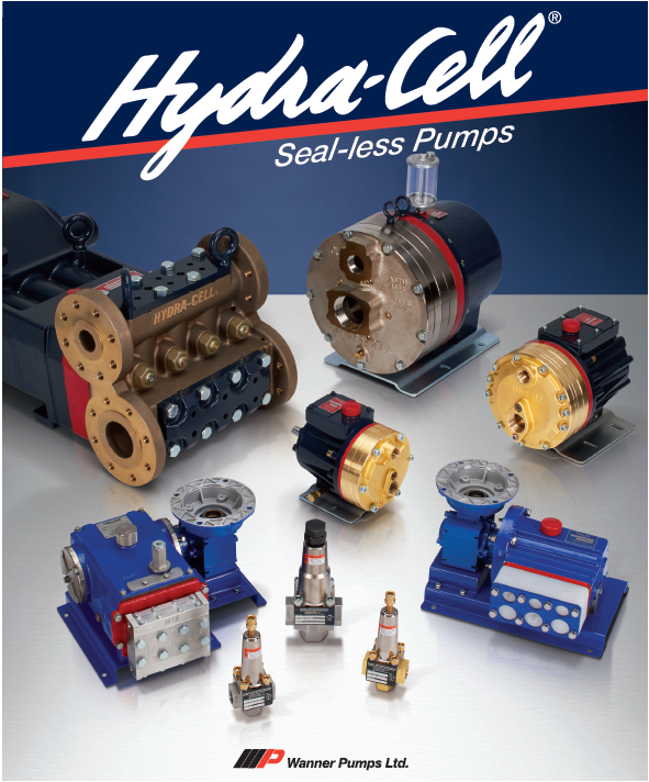 Hydra-cell 無密封高壓隔膜泵