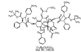 DT-6与10-DABⅢ的7,13位缩合产物