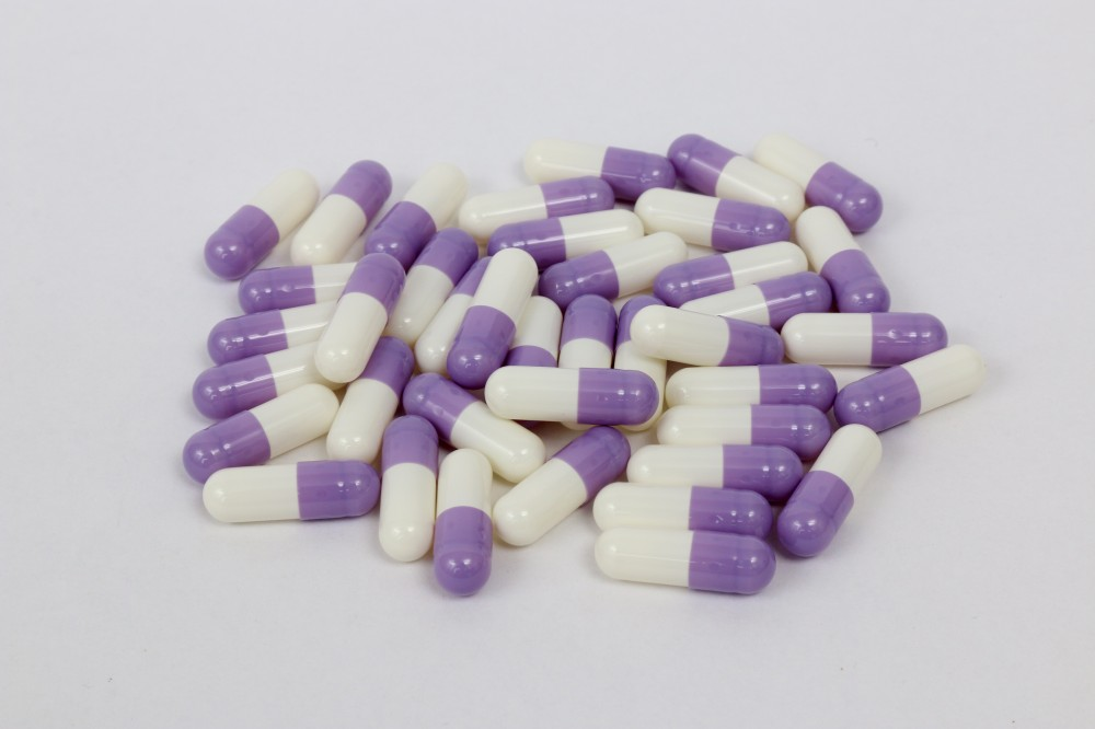 紫白明胶空心胶囊