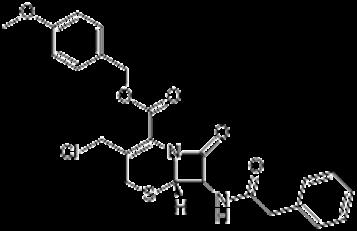 7-苯乙酰胺基-3-氯甲基-4-头孢烷酸对甲氧基苄酯