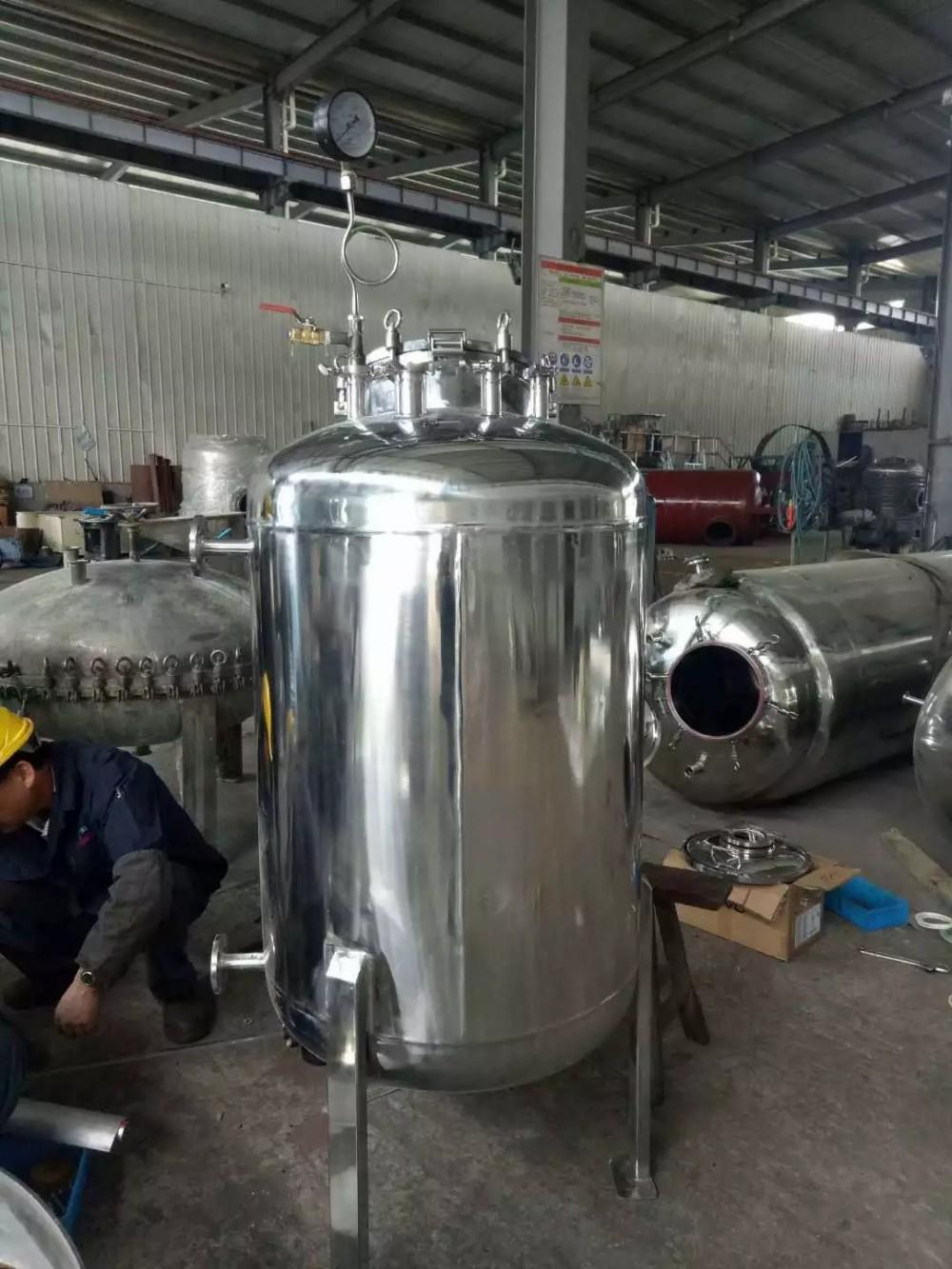 厂家直销大量批发兴科不锈钢贮罐(可按需求定制