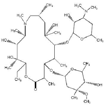 阿奇霉素 大环内酯类