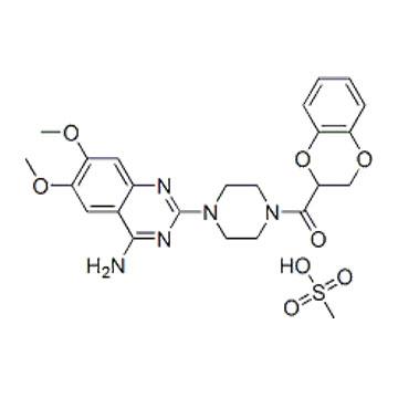 甲磺酸多沙唑嗪 心血管系统用药