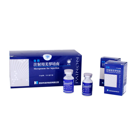 注射用美罗培南 抗菌药与抗病毒药制剂
