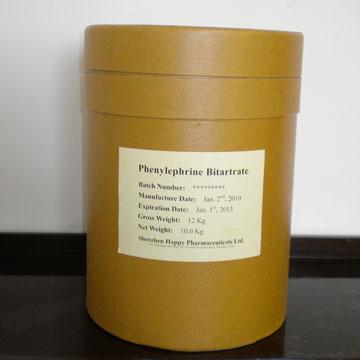 重酒石酸苯福林 其他西药原料