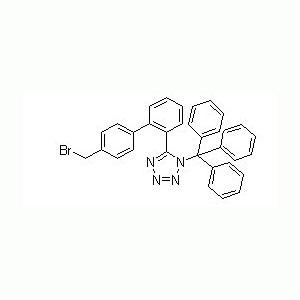 5-(4´-溴甲基联苯-2-基)-1-三苯基甲基四氮唑 中间体