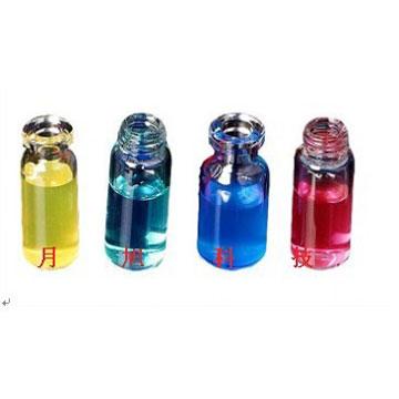 白色PTFE/红色硅胶垫片, 专用于2ml钳口瓶