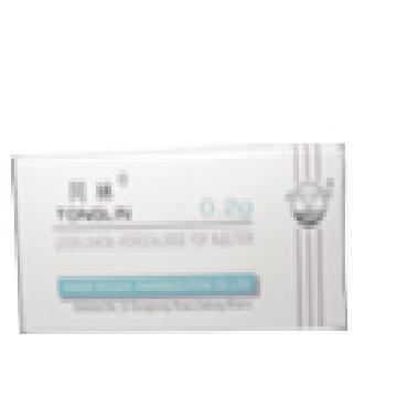 注射用盐酸左氧氟沙星 抗菌药与抗病毒药制剂