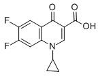 1-环丙基-6,7-二氟-1,4-二氢-4-氧代-3-喹啉甲酸