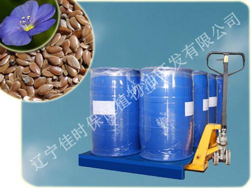 亚麻籽油产品图片