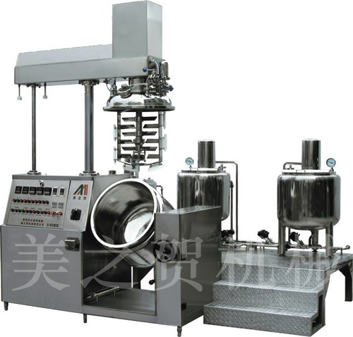 真空乳化机产品图片