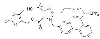 三苯甲基奥美沙坦酯 中间体