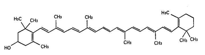 β-隐黄质