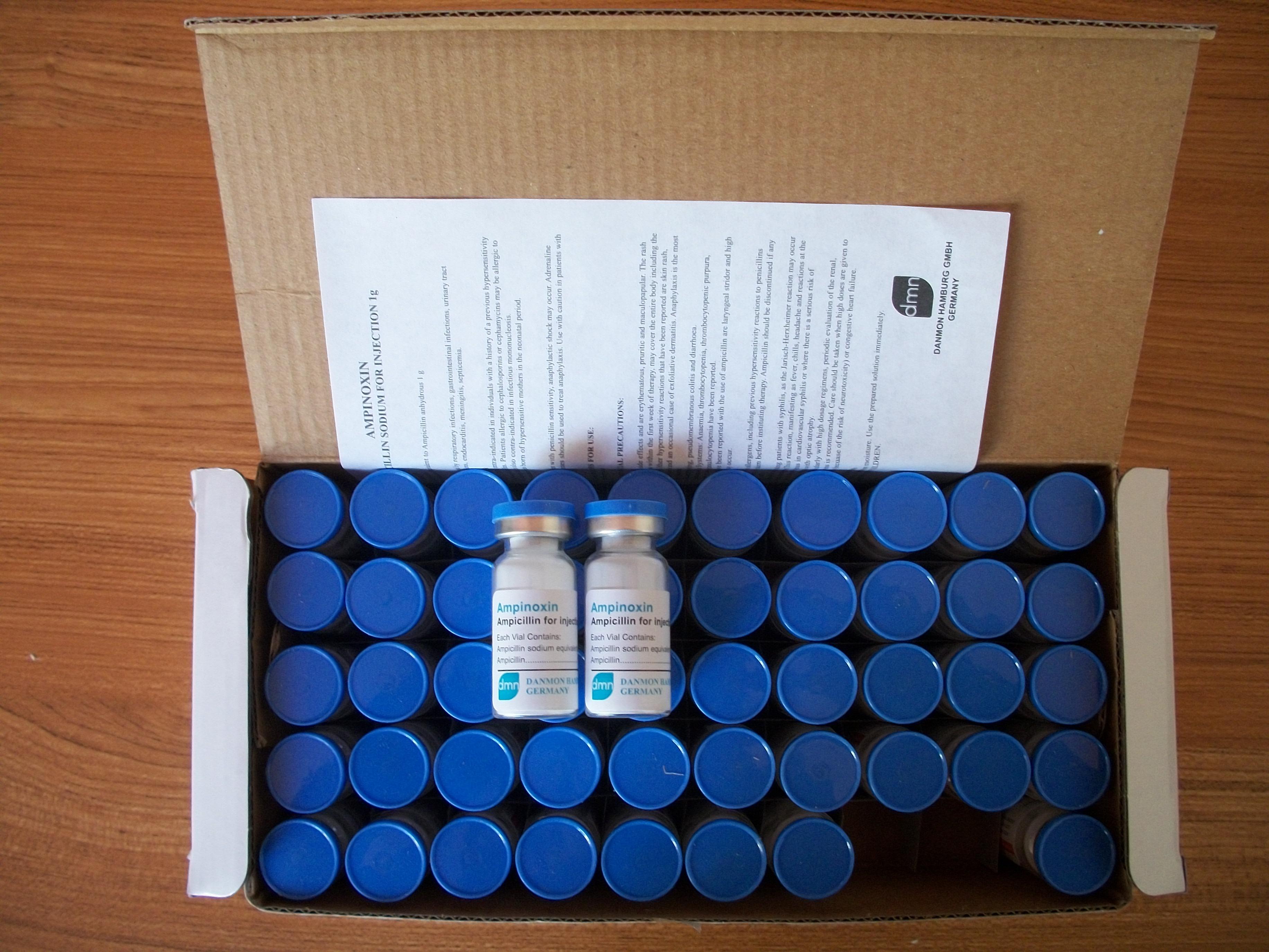 注射用氨苄西林钠产品图片
