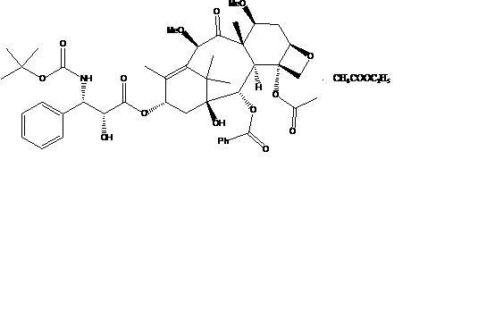 卡巴他赛乙酸乙酯合物