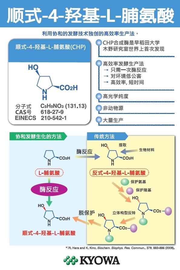 顺式-4-羟基-L-脯氨酸