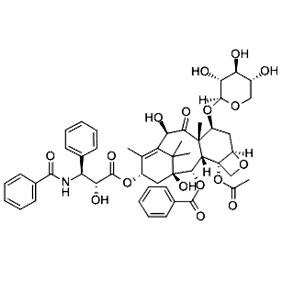 7-木糖甙-10-脱乙酰基紫杉醇