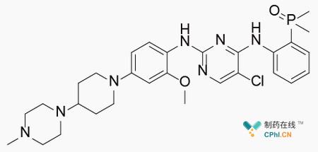 Brigatinib分子式