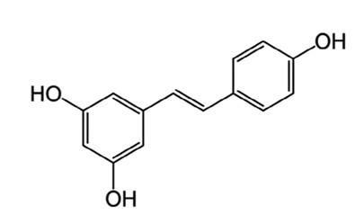 白藜芦醇结构式