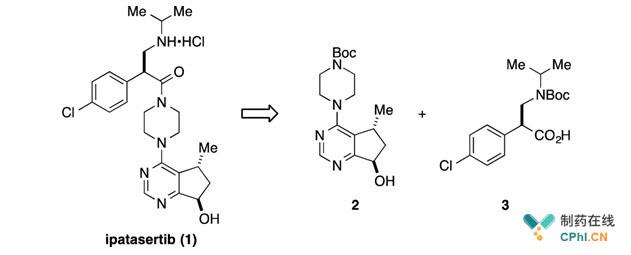 Ipatasertib药物分子组成