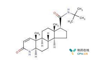 图一 非那雄胺结构式