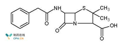 青霉素结构式