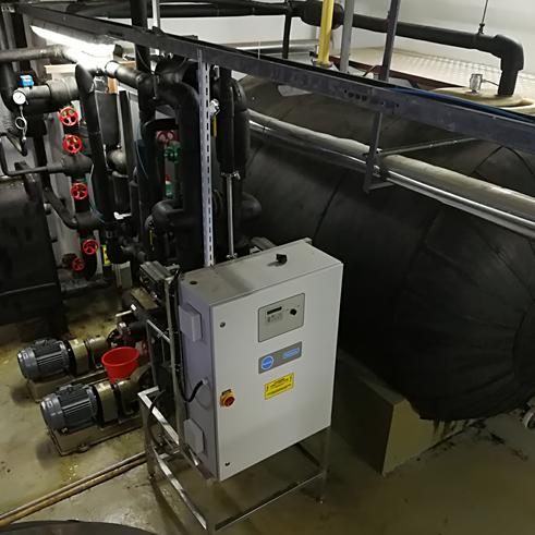 发明专利:食品、药品无菌无氯冷却水的制备装置