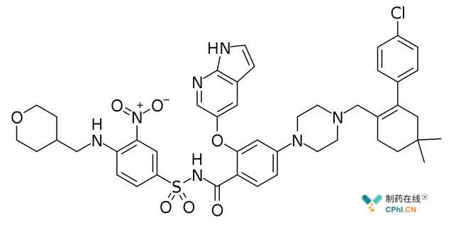Venetoclax分子结构