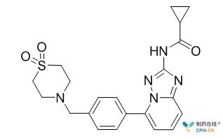 Filgotinib结构