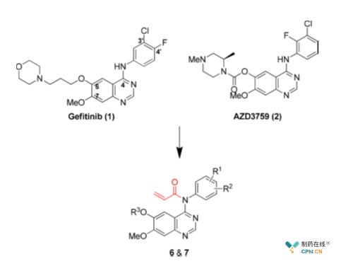 新型EGFR抑制剂的设计