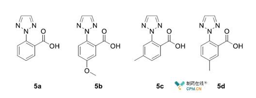 三氮唑苯甲酸核心骨架