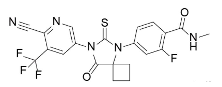 阿帕鲁胺结构式