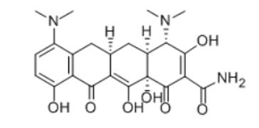 米诺环素结构式